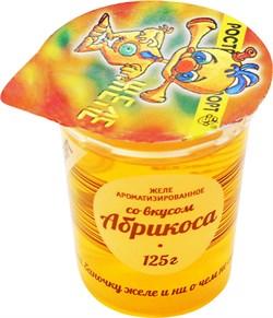 Желе РАЭ ароматизированное со вкусом абрикоса 125г - фото 4493