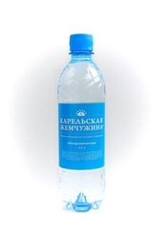 Вода Карельская жемчужина столовая негаз 0,5л - фото 4507