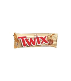 Печенье Твикс песочное с карамелью,покрытое молочным шоколадом 50г - фото 4541