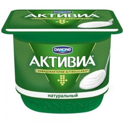 Биойогурт Активиа с бифидобактериями жир.3,5% 150г - фото 4552