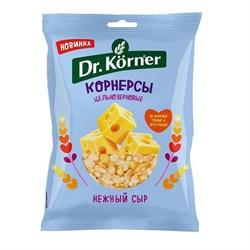 Корнерсы Д.Кернер цельнозерновые чипсы нежный сыр 50г - фото 4559