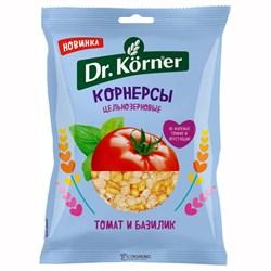 Корнерсы Д.Кернер цельнозерновые чипсы томат базилик 50г - фото 4566