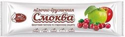 Смоква Эко пастила яблочно-брусничная 30г - фото 4604
