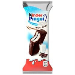 Пирожное Киндер пингви молочное покрытое шоколадом 30г - фото 4621