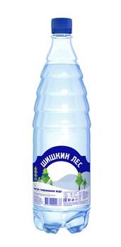 Вода Шишкин лес питьевая газированная 1,0л - фото 4628