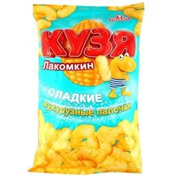 Палочки кукурузные Кузя Лакомкин 140г - фото 4652