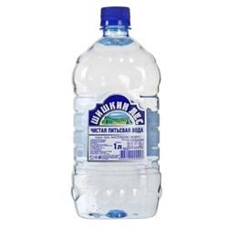 Вода Шишкин лес питьевая негазированная 1,0л - фото 4663