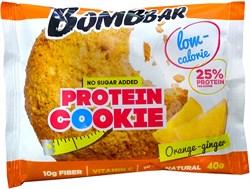 Печенье Бомббар Апельсин-имбирь протеиновое 40г - фото 4664