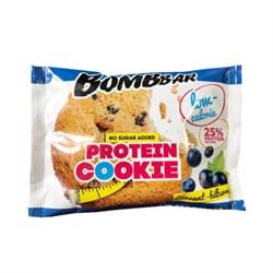 Печенье Бомббар смородина-черника протеин 40г - фото 4667