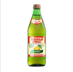 Напиток Любимый аромат груша 0,5л б/а ст/б - фото 4695