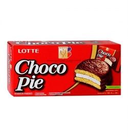 Печенье Лотте Чоко Пай 168г - фото 4700