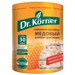 Хлебцы Д.Кернер злаковый коктейль медовые 100г - фото 4705