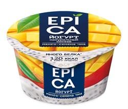 Йогурт Эпика манго-семена чиа 5% 130г - фото 4711