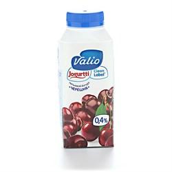 Йогурт Валио питьевой с черешней 0,4% 330г - фото 4734