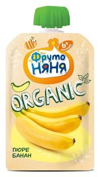 Пюре Фруто-няня Органик банан 90г - фото 4767