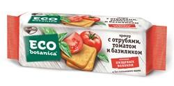 Крекер Эко Ботаника с отрубями томатом и базиликом 175г - фото 4795