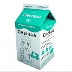 Сметана Олонецкий мк жир.15% 500г - фото 4813