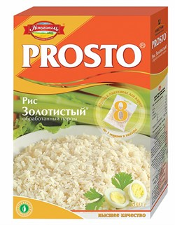 Рис Просто золотистый длиннозерный 500г - фото 4826