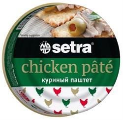 Паштет Сетра куриный 100г - фото 4844