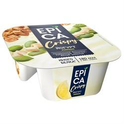 Йогурт Эпика Криспи лимон-семена тыквы-печенье-белый шоколад 4,8% 140г - фото 4858