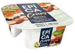 Йогурт Эпика Криспи фисташки-семечки-темный шоколад 10,5% 140г - фото 4860