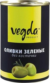 Оливки Вегда зеленые без косточки ж/бн 300мл - фото 4882