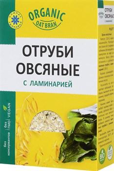 Отруби Компас здоровья овсяные с ламинарией 200г - фото 4909