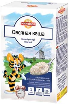 Каша Мюллян Парас овсяная из отборных хлопьев 500г - фото 4922