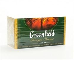 Чай Гринфилд кения санрайз 25пак. 50г - фото 4958