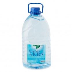 Вода Карелия Аква питьевая негаз 5л - фото 4990