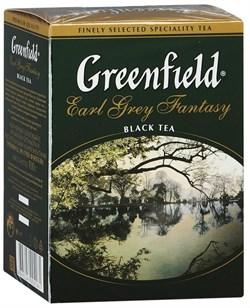 Чай Гринфилд эрл грей фэнтази цейлонский черный 100г - фото 5022