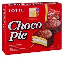 Печенье Лотте Чоко-пай 12шт 336г - фото 5079