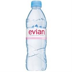 Вода Эвиан минеральная 0,5л - фото 5116