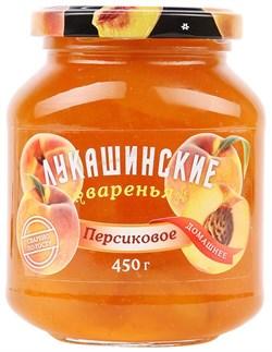 Варенье Лукашинские персиковое 450г ст/б - фото 5163