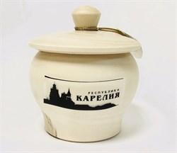 Мед Карельское общ. пче. в деревянном горшочке 100г - фото 5284