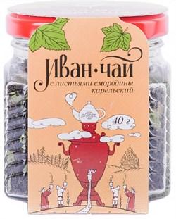 Чай Мама Карелия Иван-чай карельский с листьями смородины 40г ст/б п/у - фото 5296
