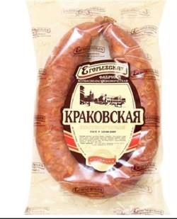 Колбаса Егорьевская краковская п/к 340 гр - фото 5298