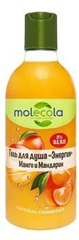 Гель для душа Молекола манго и мандарин 400мл - фото 5312