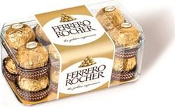 Конфеты Ферреро роше из крема и цельным лесным орехом 200г - фото 5365