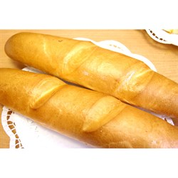 Булка-багет с чесноком 220г 1шт* - фото 6590