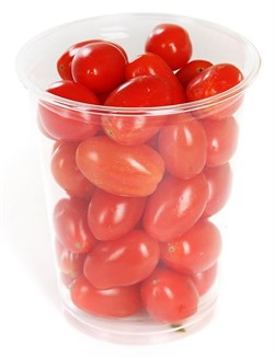 Томаты Экокультура коктейльные сливовидные красные 250г шейкер - фото 6616