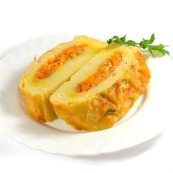 Рулет картофельный с овощами 100 г. - фото 6665