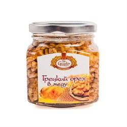 Мед Гюсто с грецким орехом и инжиром 300г - фото 6689