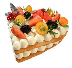 Торт сердце 100 г. - фото 6694