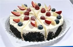 Торт шифон с ягодами 100 г. - фото 6695