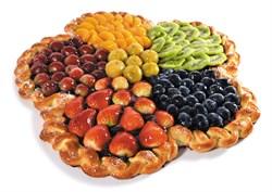 Пирог фруктовый Цветик 100 г. - фото 6696