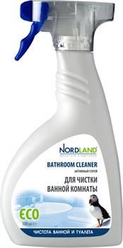 Средство Нордланд для чистки ванной комнаты 500мл спрей - фото 6742