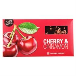 Шоколад СНСО горький вишня-корица 100г - фото 6824