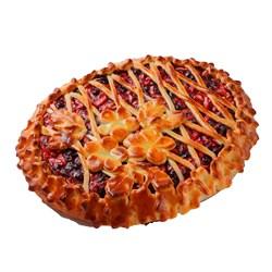 Пирог с яблоками и брусникой 12ч/24ч 100 г. - фото 6930