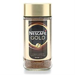 Кофе Нескафе Голд растворимый 95г ст/б - фото 6965